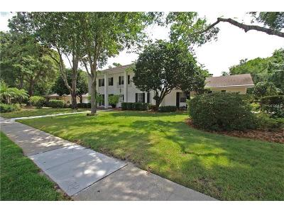 Longwood Single Family Home For Sale: 100 N Sweetwater Boulevard