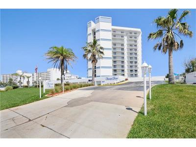 Daytona Beach, Daytona Beach Shores, New Smyrna Bch, New Smyrna Beach, Ormond Beach, Edgewater, Ponce Inlet Condo For Sale: 5207 S Atlantic Avenue #126