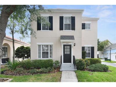 Celebration Single Family Home For Sale: 815 Runner Oak Street