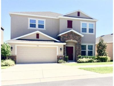Apopka Single Family Home For Sale: 930 Berry Leaf Court