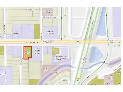 Orlando Residential Lots & Land For Sale: 8640 E Colonial Drive