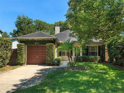 Winter Park Single Family Home For Sale: 2709 Parkland Drive
