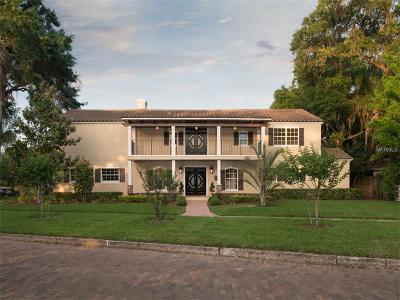 Winter Park Single Family Home For Sale: 1460 Sunset Drive