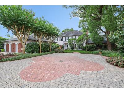 Winter Park Single Family Home For Sale: 975 Greentree Drive