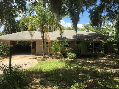 Eustis Single Family Home For Sale: 1135 Morningside Drive