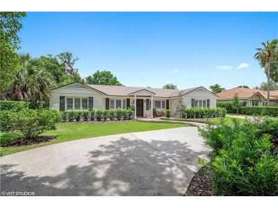 Winter Park Single Family Home For Sale: 1231 Palmer Avenue