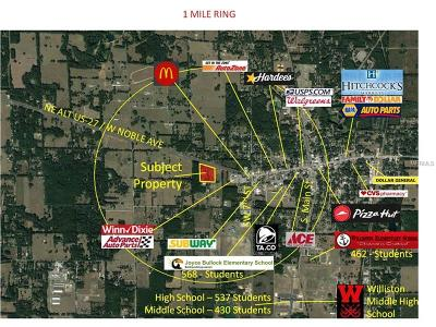 Levy County Residential Lots & Land For Sale: 18651 Us-27 Alt