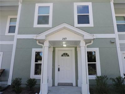 Longwood Townhouse For Sale: 289 N Oak Street
