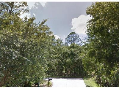 Orlando Residential Lots & Land For Sale: 5830 Tamanaco Trail
