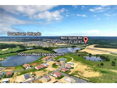 Winter Garden Residential Lots & Land For Sale: 9601 Seidel Road