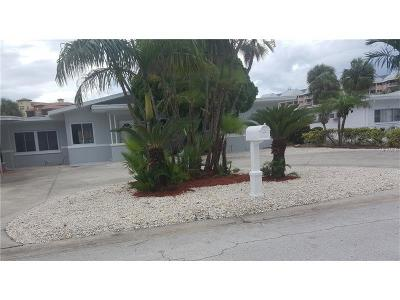 Saint Pete Beach, St Pete Beach Single Family Home For Sale: 5408 Aloha Drive