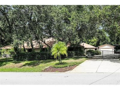Winter Springs Single Family Home For Sale: 606 Fisher Road