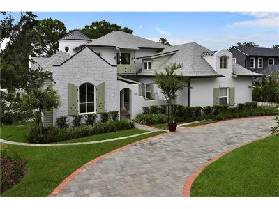 Winter Park Single Family Home For Sale: 150 W Rockwood Way