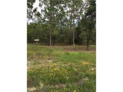 Levy County Residential Lots & Land For Sale: 121 SE State Road SE