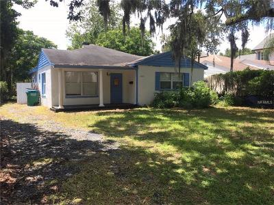 Winter Park Single Family Home For Sale: 1560 Grove Terrace