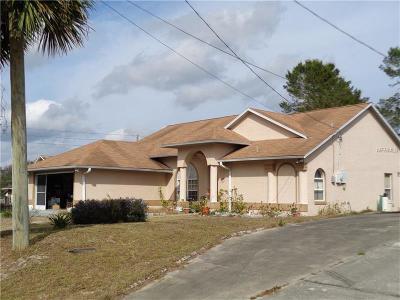 Deltona Single Family Home For Sale: 1655 Horseshoe Terrace
