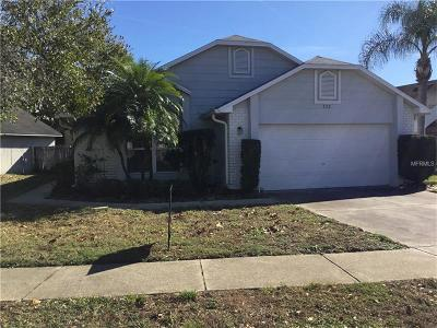 Lake Mary Single Family Home For Sale: 333 Lakebreeze Cir