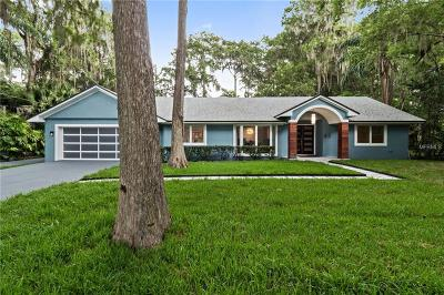 Winter park Single Family Home For Sale: 45 Cypress Lane