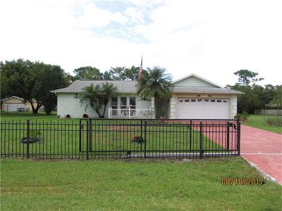 Orlando Single Family Home For Sale: 10447 Lehman Road