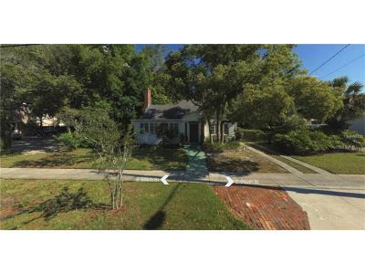 Orlando Single Family Home For Sale: 513 E South Street