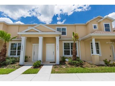 Clermont Townhouse For Sale: 1443 Retreat Circle