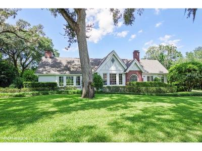 Winter Park Single Family Home For Sale: 1621 Laurel Road