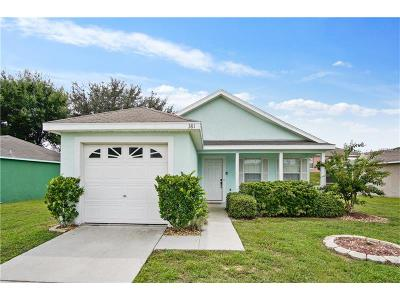 Davenport, Champions Gate Single Family Home For Sale: 50989 Highway 27 #381