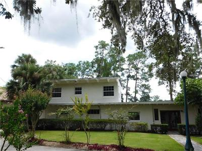 Lake Mary Single Family Home For Sale: 1305 W Lake Mary Boulevard