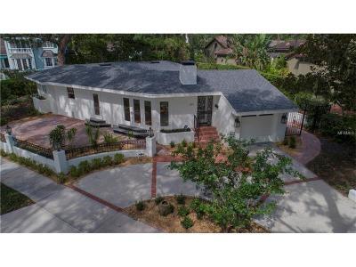 Winter Park Single Family Home For Sale: 1141 Osceola Avenue