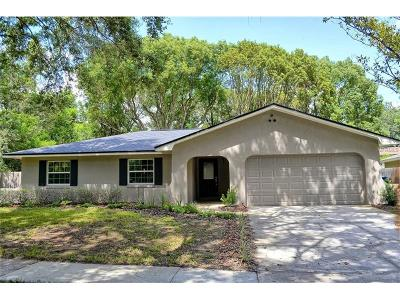 Winter Springs Single Family Home For Sale: 1002 Winter Springs Boulevard