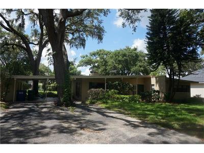Winter Park FL Single Family Home For Sale: $850,000