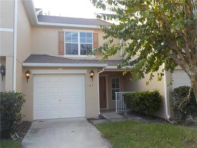 Altamonte Springs Townhouse For Sale: 163 Sterling Springs Lane