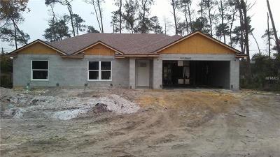 Deltona Single Family Home For Sale: 2825 W Covington Drive