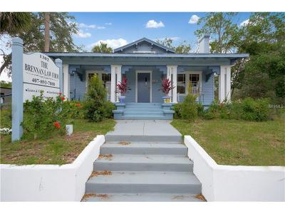 Orange County, Osceola County, Seminole County Multi Family Home For Sale: 1302 E Robinson Street