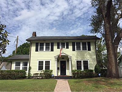 Orlando Single Family Home For Sale: 613 Woodward Street