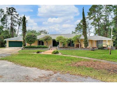 Sanford FL Single Family Home For Sale: $449,000