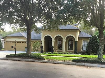 Single Family Home For Sale: 842 Palm Oak Dr
