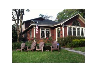 Orlando Single Family Home For Sale: 1001 E Washington Street