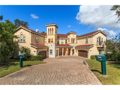 Winter Park Townhouse For Sale: 2607 Temple Trail