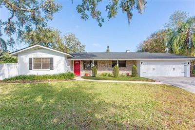 Winter Park Single Family Home For Sale: 1825 Whitehall Drive