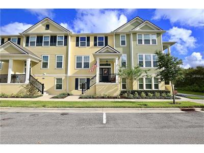 Winter Springs Townhouse For Sale: 1384 Mill Stream Lane