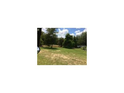 Lake County, Seminole County, Volusia County Residential Lots & Land For Sale: Fifth Street