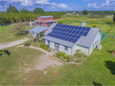 Winter Haven Single Family Home For Sale: 261 Gerber Dairy Road
