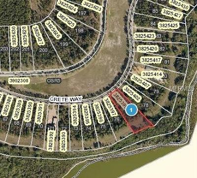 Montverde Residential Lots & Land For Sale: 16949 Crete Way
