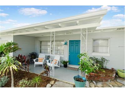 Cocoa Beach Single Family Home For Sale: 1395 Bayshore Drive