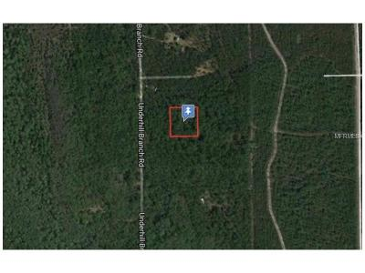 Lake County, Seminole County, Volusia County Residential Lots & Land For Sale: Lake Harney Road