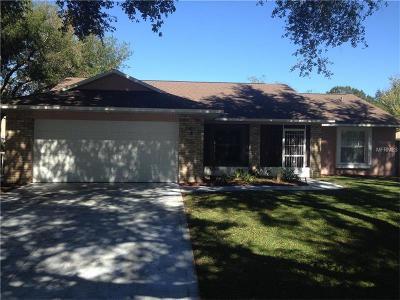 Eustis Single Family Home For Sale: 2607 Autumn Lane