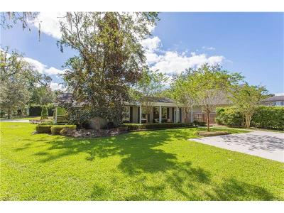 Winter Park Single Family Home For Sale: 1254 Via Estrella