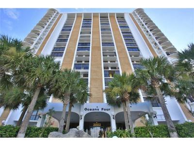 Daytona Beach Shores Condo For Sale: 3003 S Atlantic Avenue #12B4