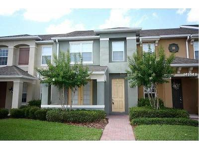 Windermere Townhouse For Sale: 12868 Salomon Cove Drive